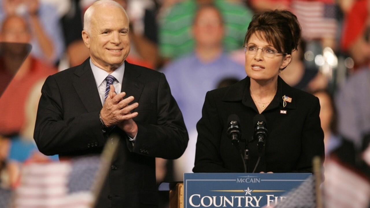 Reports: Sarah Palin not invited to McCain funeral