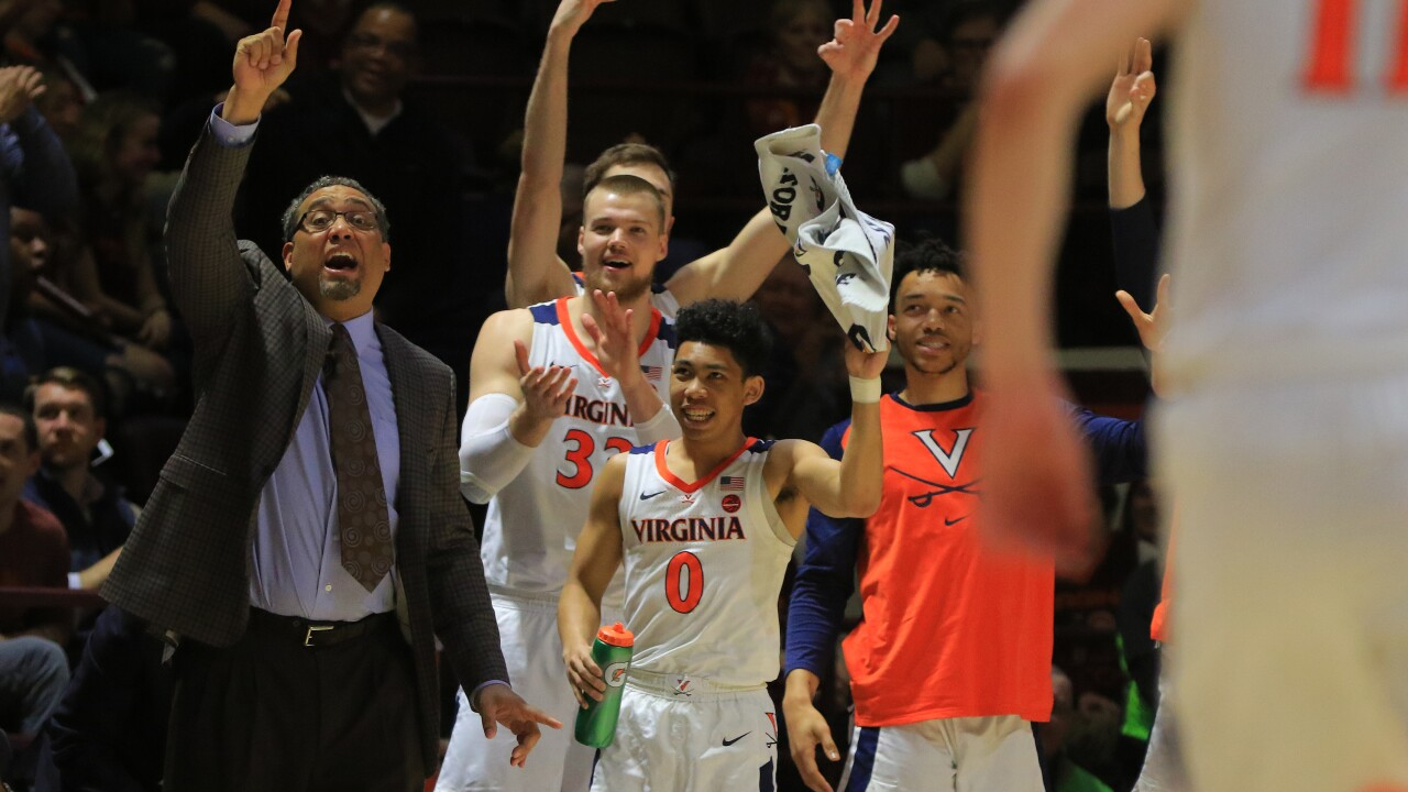 Commonwealth cleaning: Virginia men's hoops sweeps Virginia Tech for first time since 2015