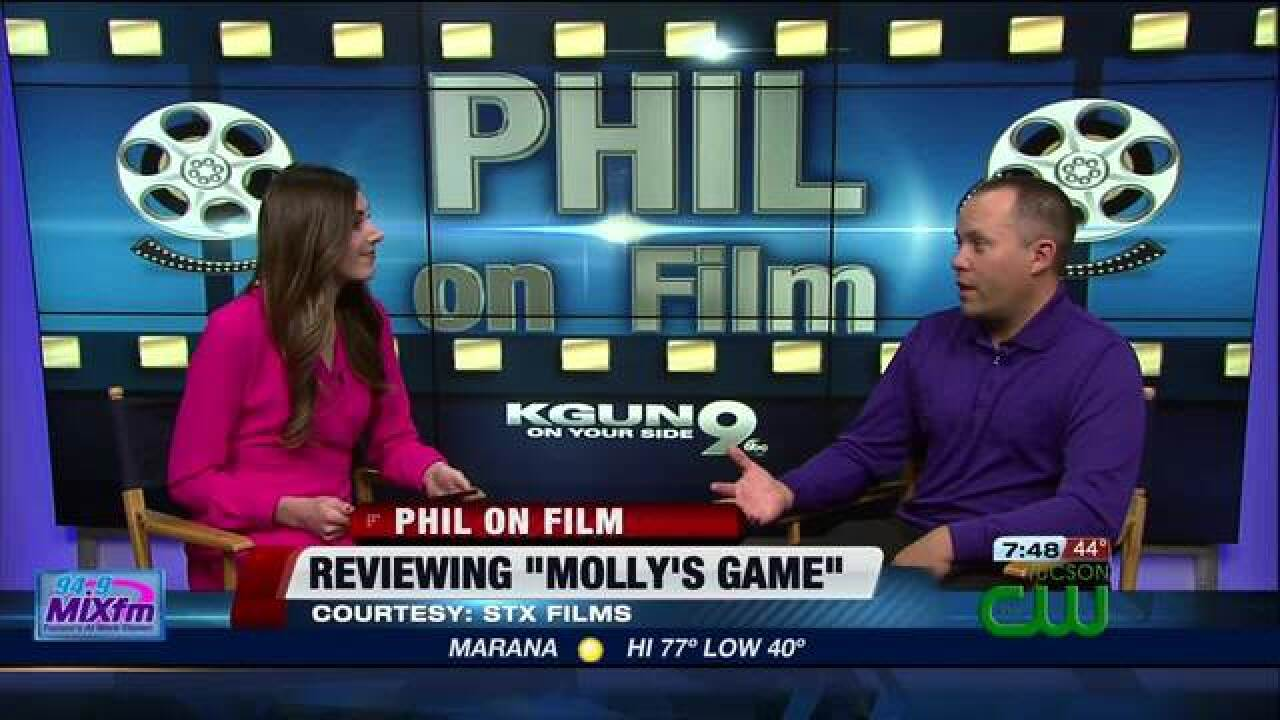 Dialogue is the star in 'Molly's Game'