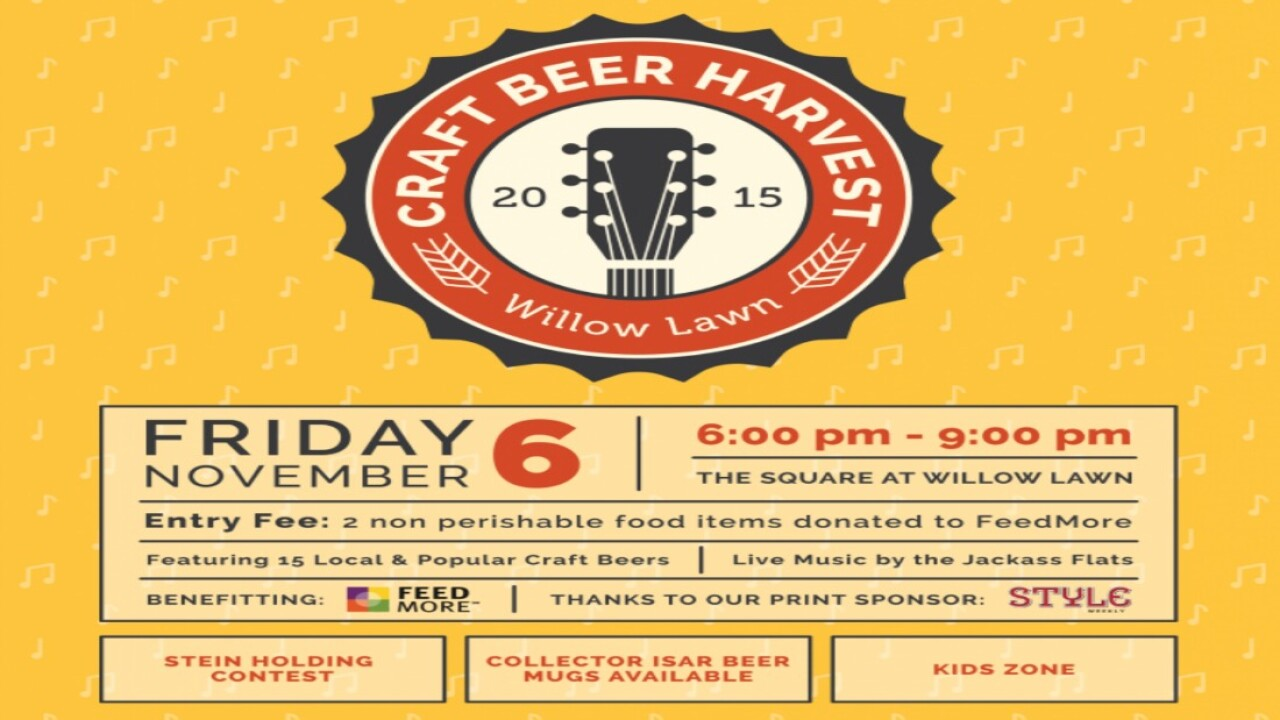 Willow Lawn is throwing a craft beer party