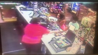Gas station assault