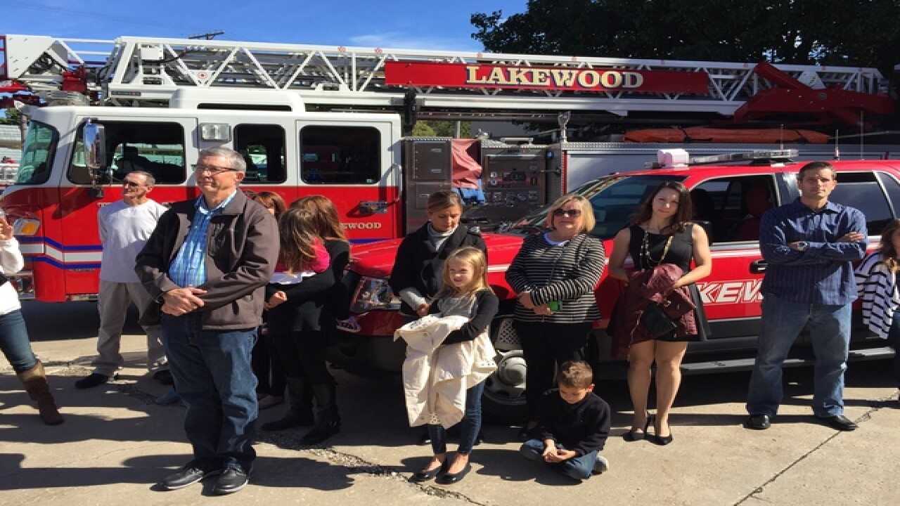 Fallen firefighters honored in Lakewood