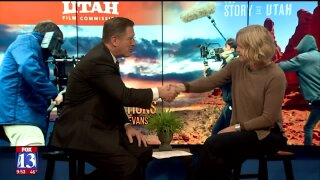 3 Questions with Bob Evans: Utah Film Commission Director, Virginia Pearce, talks about the movie industry in thestate