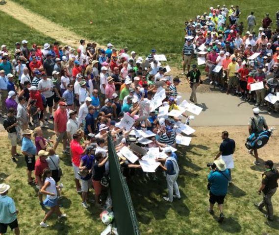 U.S. Open Descends on Erin Hills
