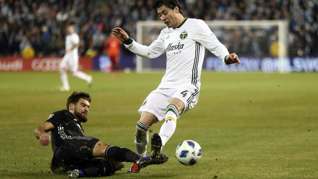Timbers beat Sporting KC 3-2 to earn MLS Cup trip