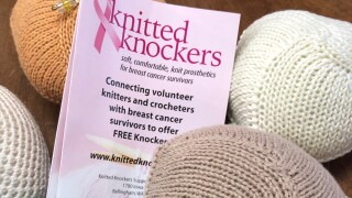 Knitted Knockers for mastectomy patients