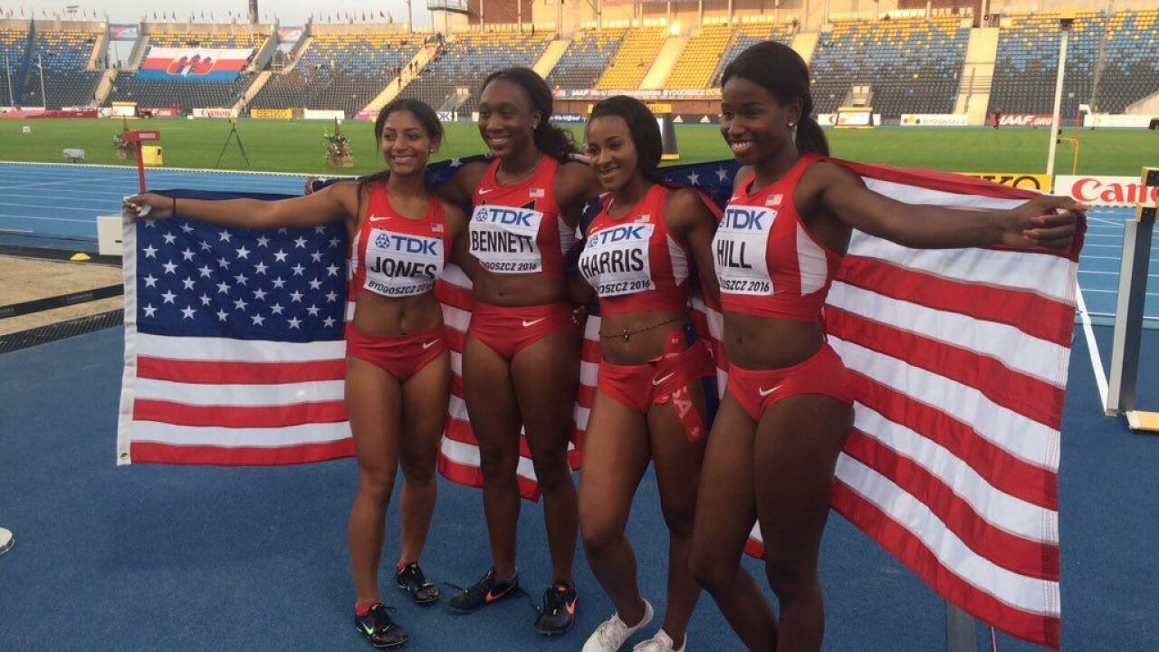 Baylor's Bennett Wins Gold At World U20 Championships