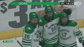 CC hockey shut out by No. 3 North Dakota