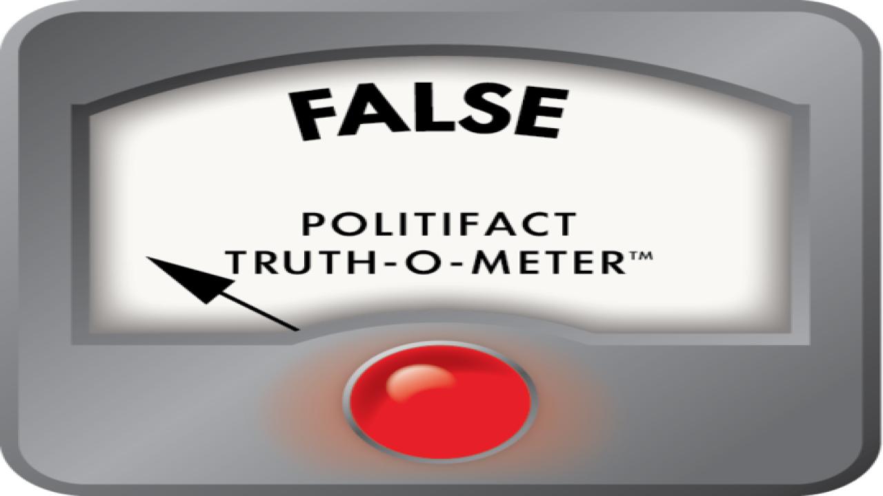 PolitiFact: Strickland misleads on Portman gun c
