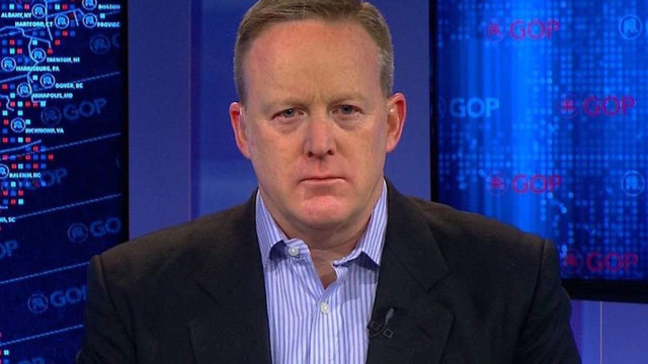 Donald Trump picks Sean Spicer as White House press secretary