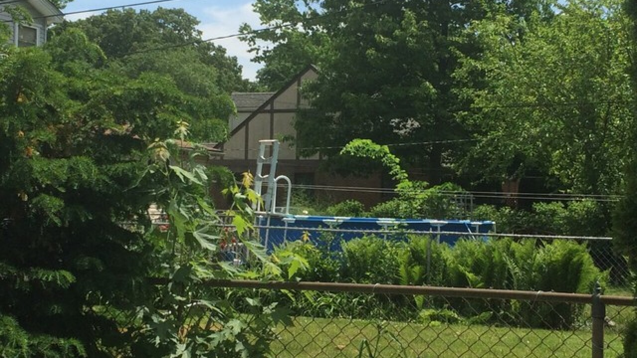 Toddler in critical after falling into pool