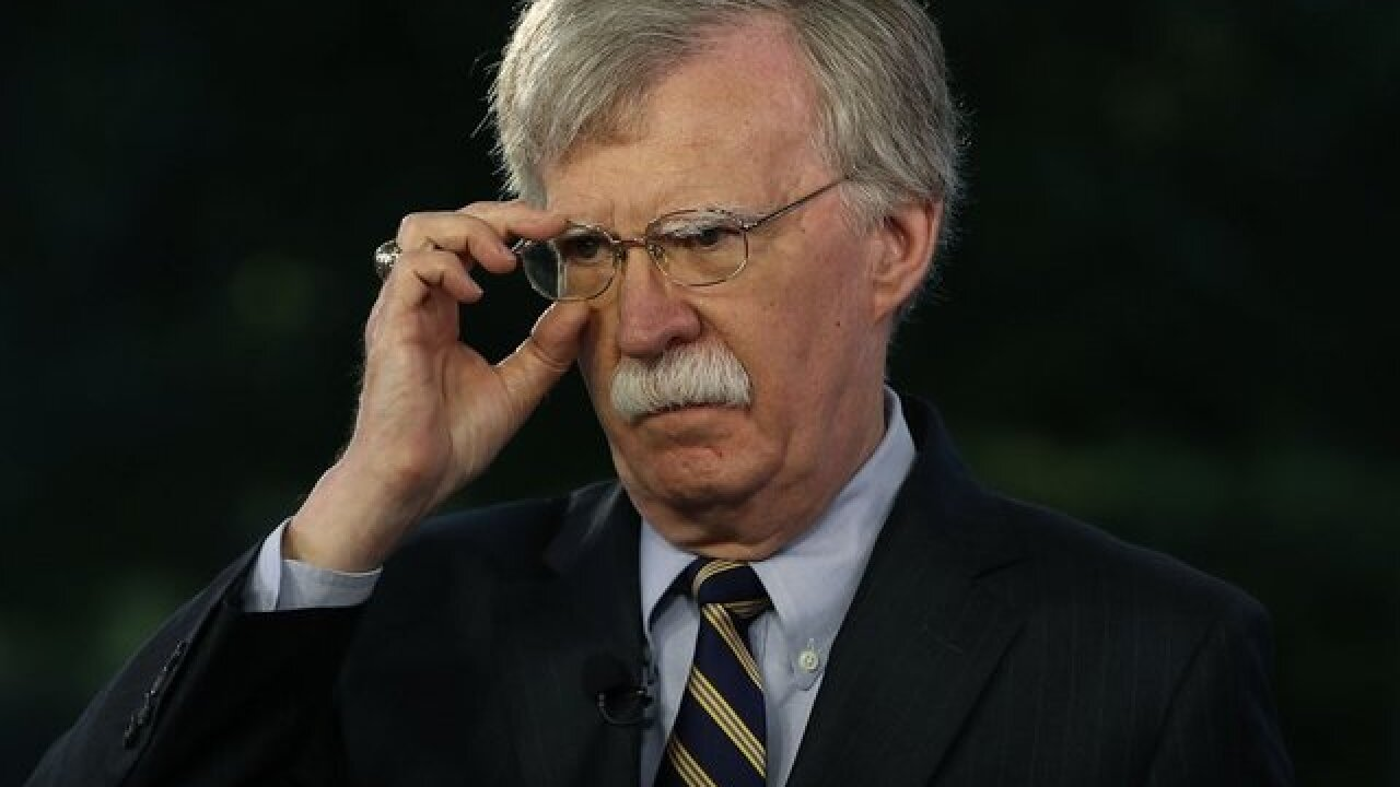 Bolton sidelined as Trump readies for North Korea