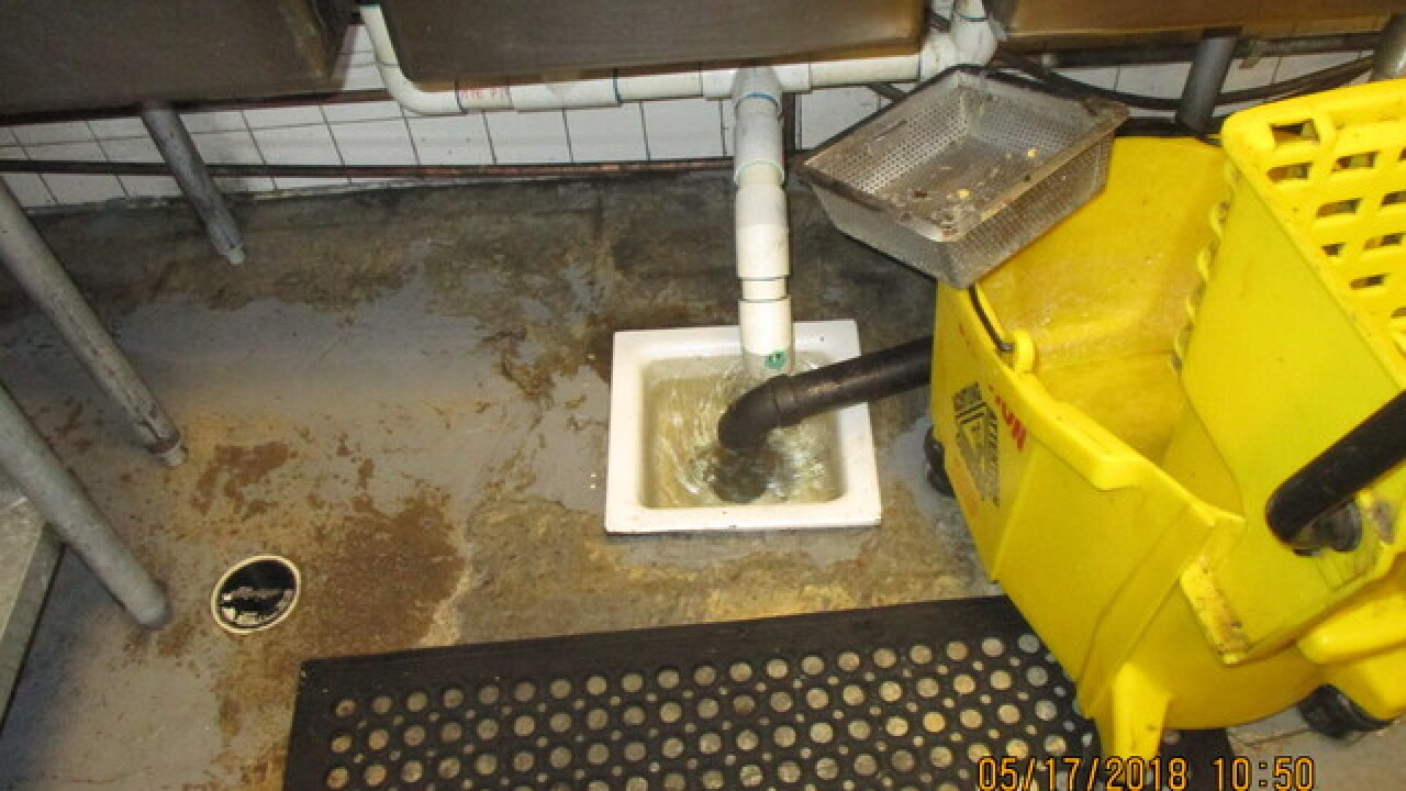 Sewage closes El Steak Burrito on Dirty Dining