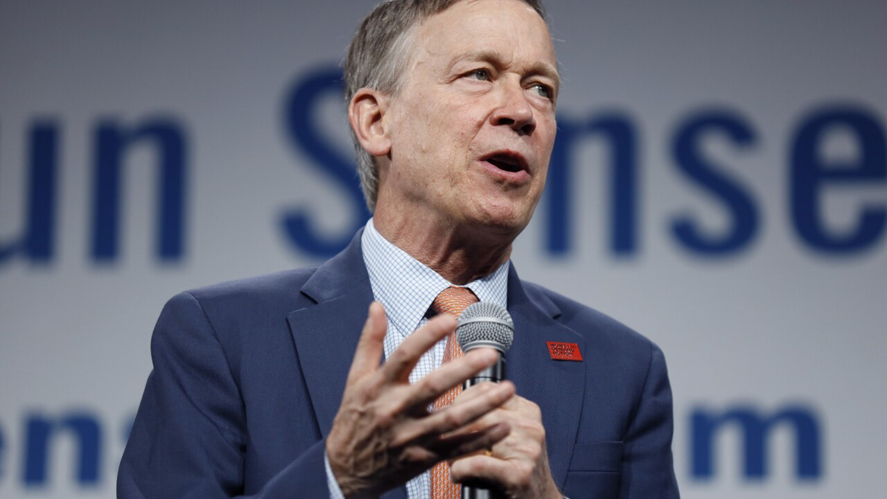 John Hickenlooper hosts gun violence discussion, earns big endorsement in Gabby Giffords