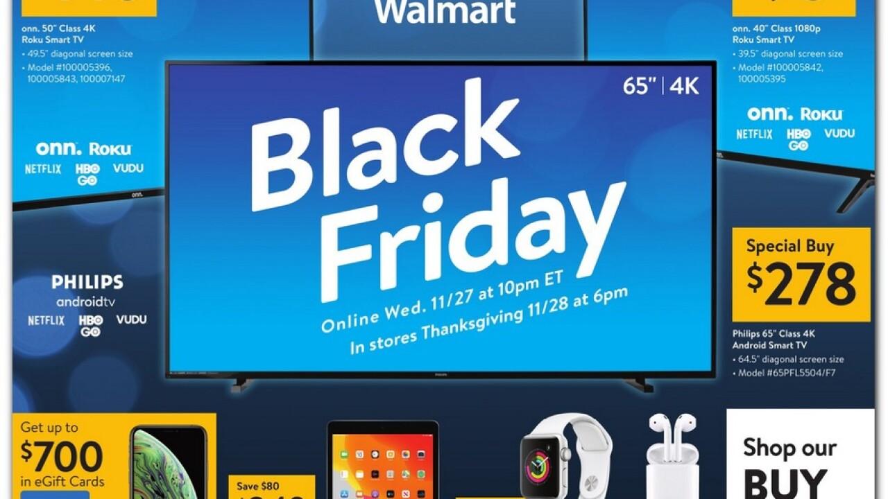 Walmart 2019 Black Friday ad