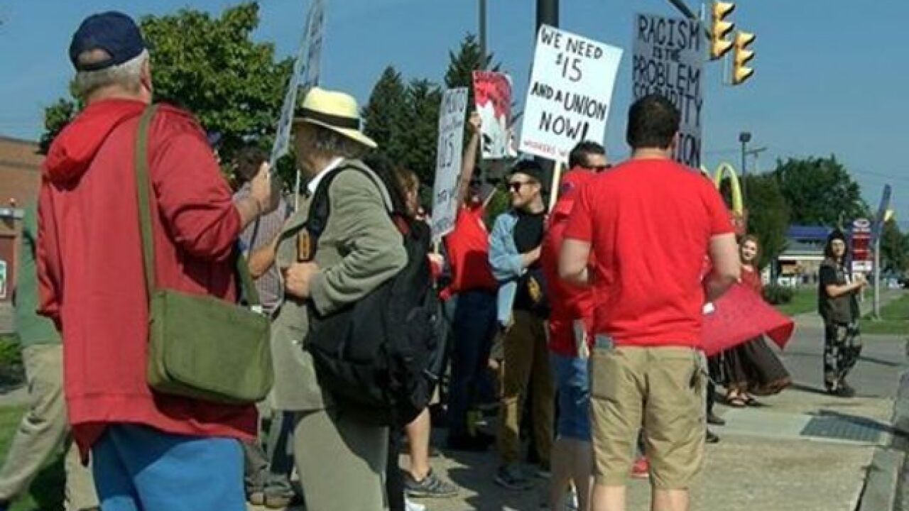 Buffalo fast food workers join national Labor Day Strike