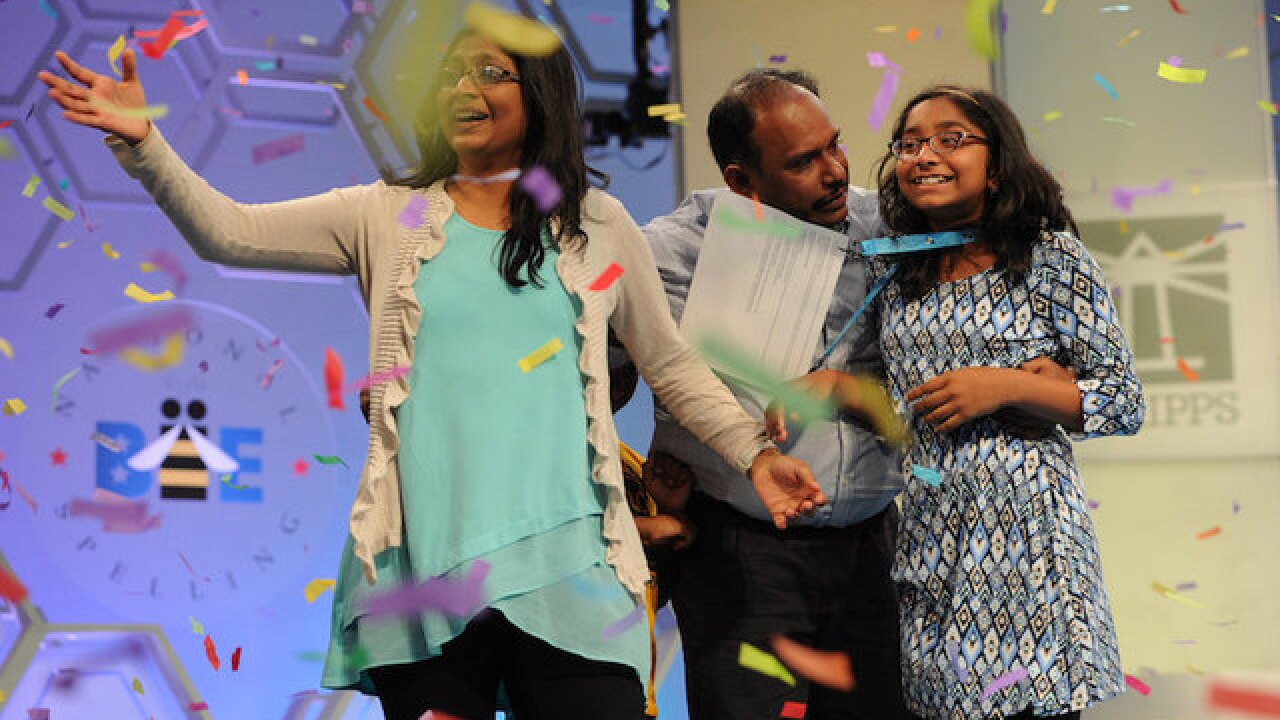 Scripps National Spelling Bee crowns 2017 winner