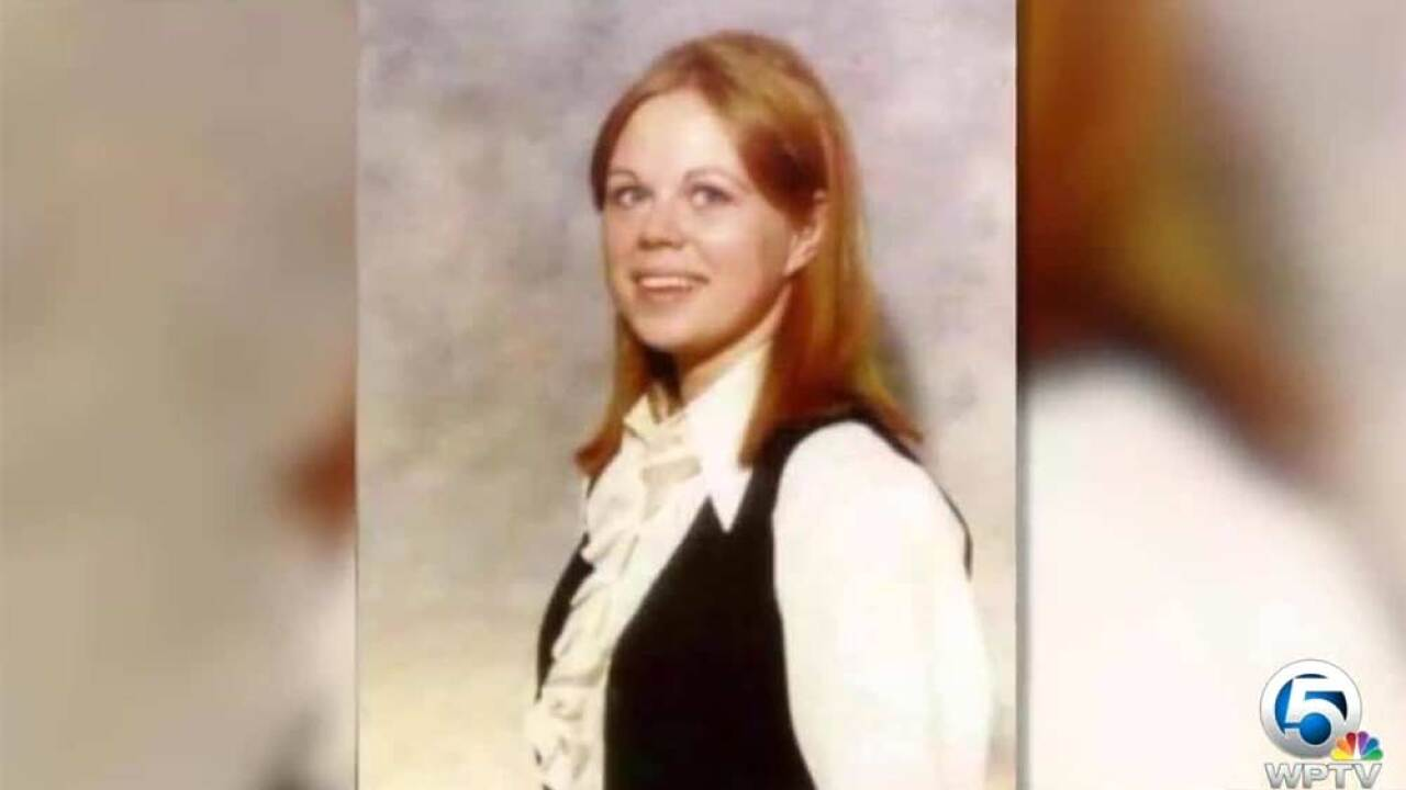 Wellington resident Marlene Warren was shot and killed in 1990 by a person dressed as a clown.