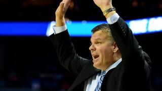greg mcdermott hands up