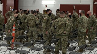 National Guard Departure