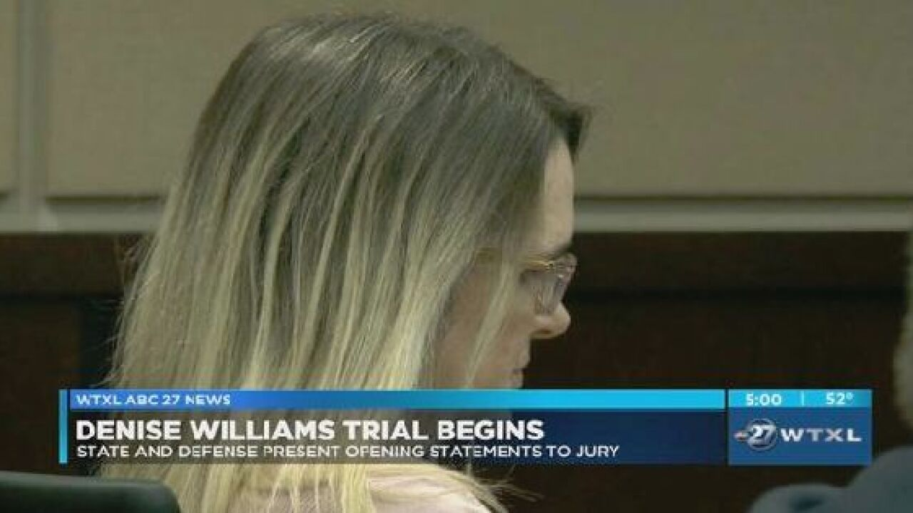 State and defense present opening statements to jury in