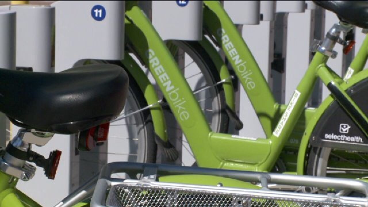 Greenbike Share Program doubles in size, officials say