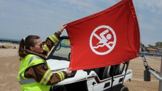 South Haven beaches get new safety flags for the colorblind