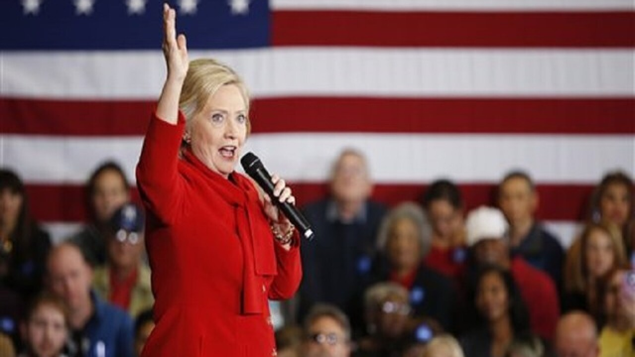 Hillary Clinton wins Saturday's SC primary