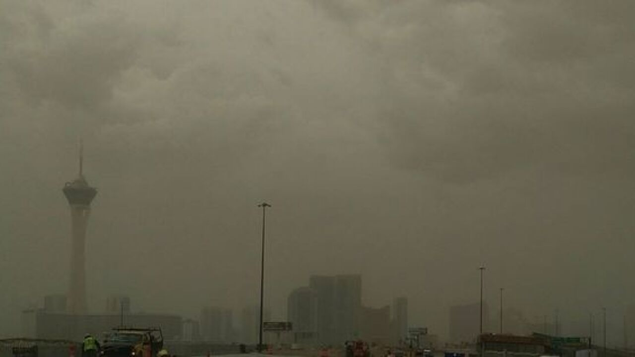 Thunderstorm and dust storm warnings