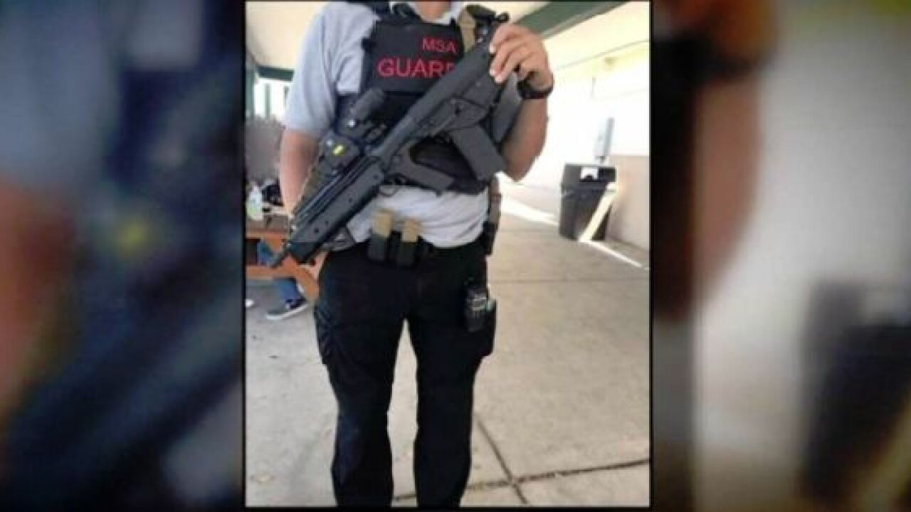 Florida school equips guardians with rifles, body armor