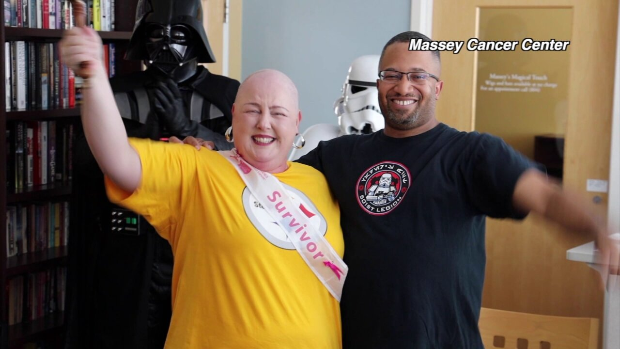 VCU Massey nurse's cancer battle gives her new meaning to help otherpatients