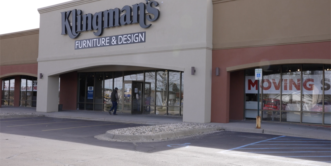 Klingman's in Delta Township Will Soon Be A Vacant Store