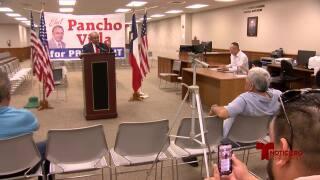 Ray Madrigal de Pancho Villa anuncia campaña presidencial