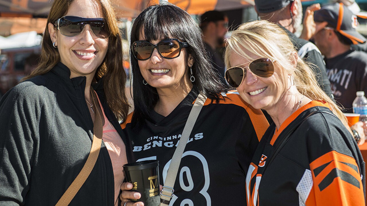 PHOTOS: Bengals tailgating, Sept. 20