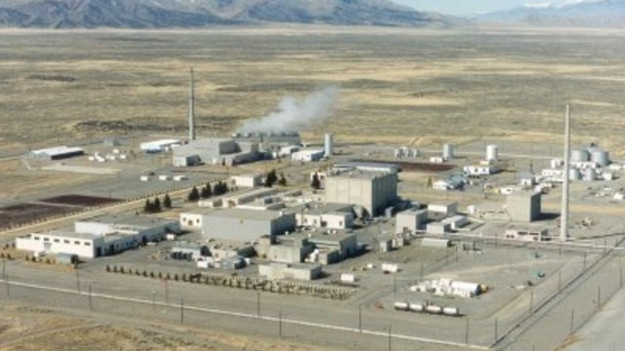 Barrel ruptures at Idaho nuke site, no injuries