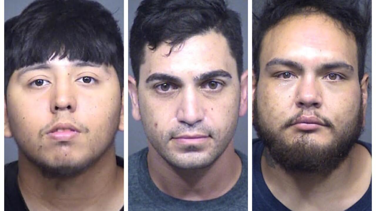 Catalytic converter theft suspects