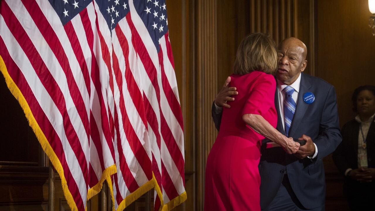 Elijah Cummings, Nancy Pelosi