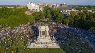 APTOPIX America Protests Richmond