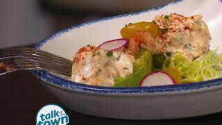 Crawfish and Crab Stuffed Avocado Salad
