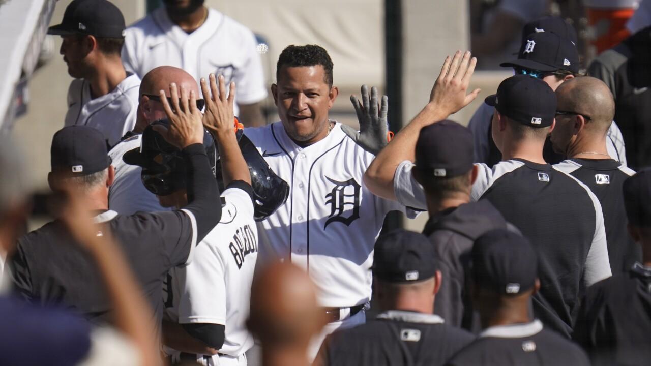 Miguel Cabrera White Sox Tigers Baseball