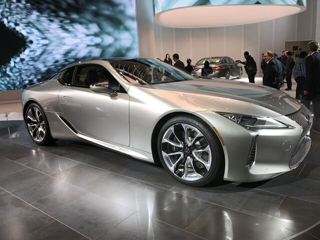 PHOTO GALLERY: Luxury vehicles at the auto show