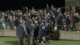 Mona Shores boys soccer celebrates first district title since 2005
