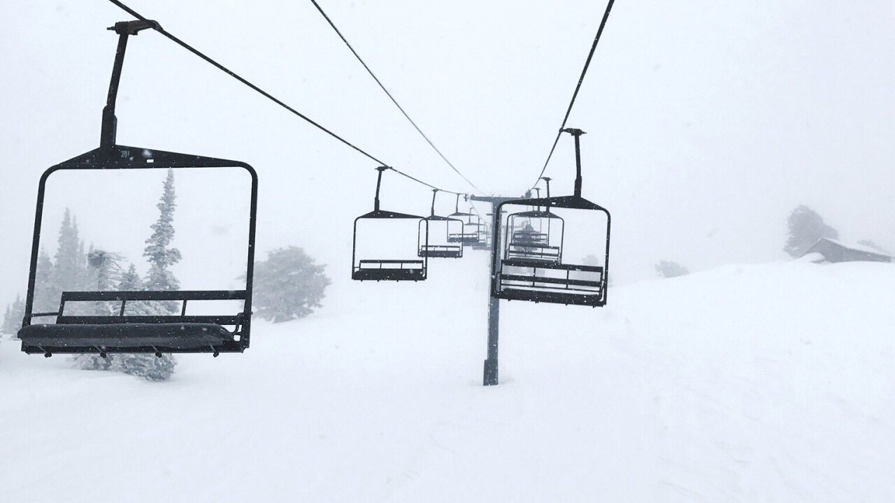 Powder Mountain closed for high winds, unstable snowpack