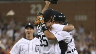 Watch Justin Verlander's no-hitters as a Detroit Tiger