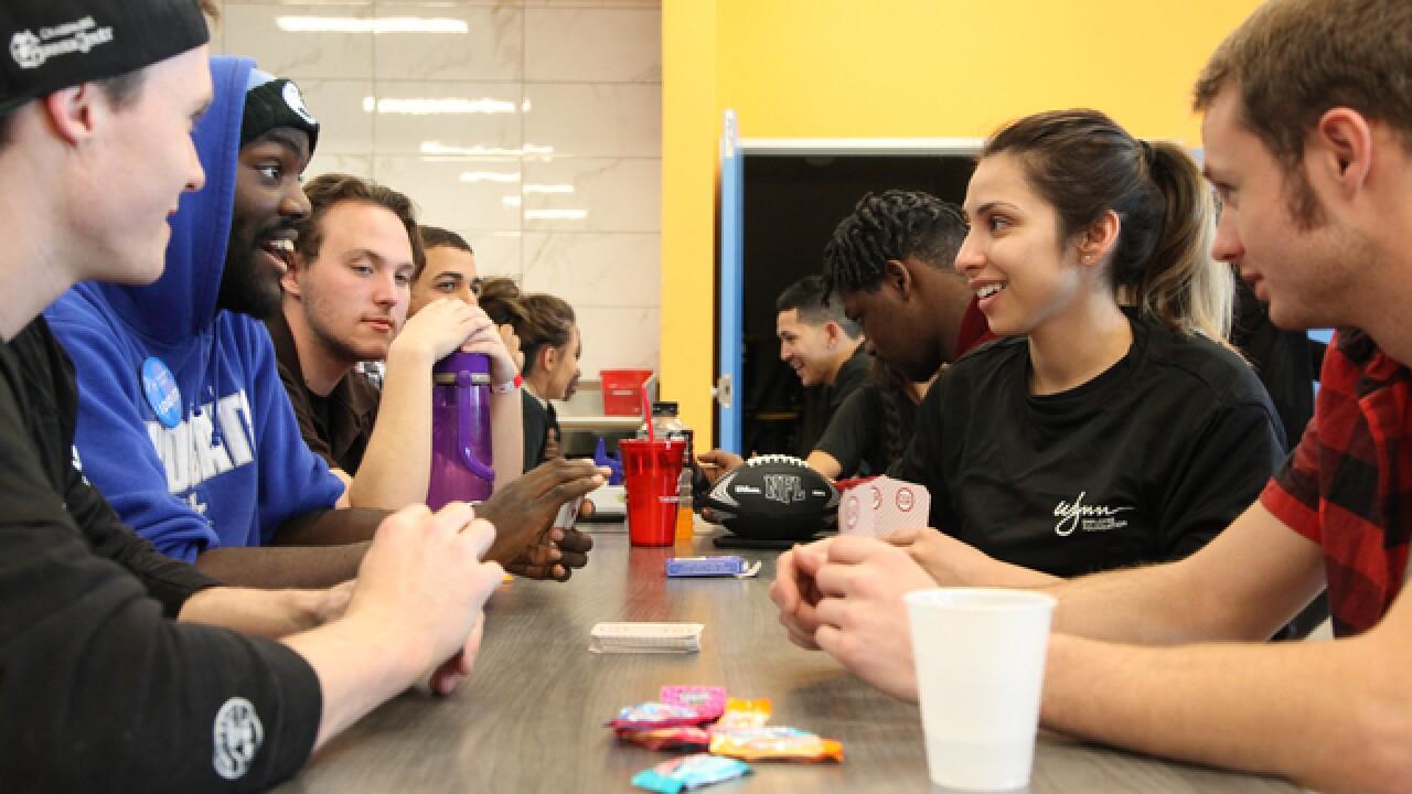 Wynn Nightlife staff treats homeless youth