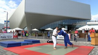 USOPM judo demonstration
