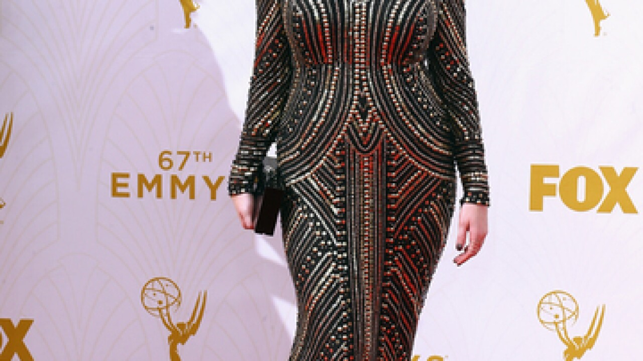 Stars walk the red carpet at the 2015 Emmys
