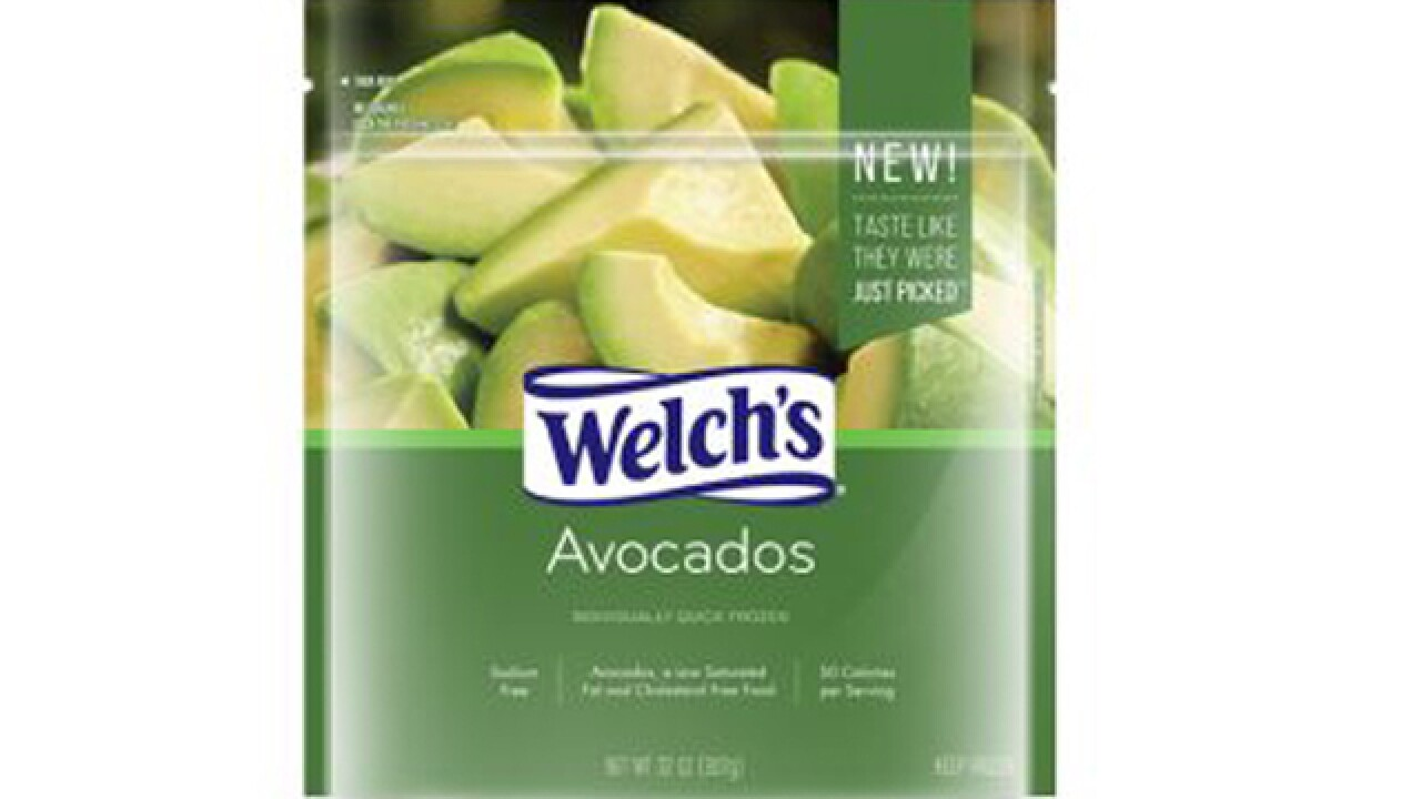 Welch's now selling frozen avocado slices