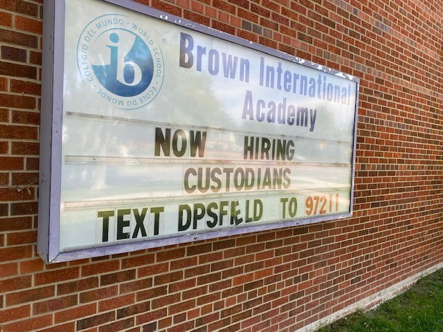 Custodians Wanted Sign