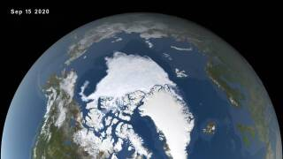 Heat wave caused massive polar ice melt in 2020